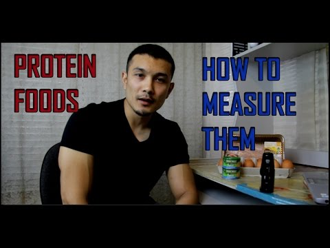 PROTEIN FOOD SOURCES // HOW TO MEASURE FOOD FOR MACROS [HINDI]