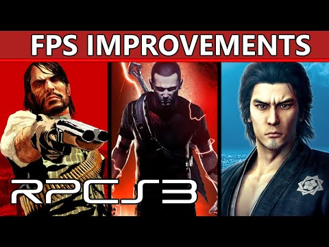 RPCS3 -  Up to a +10 FPS increase in RDR, inFamous, Yakuza and many others!