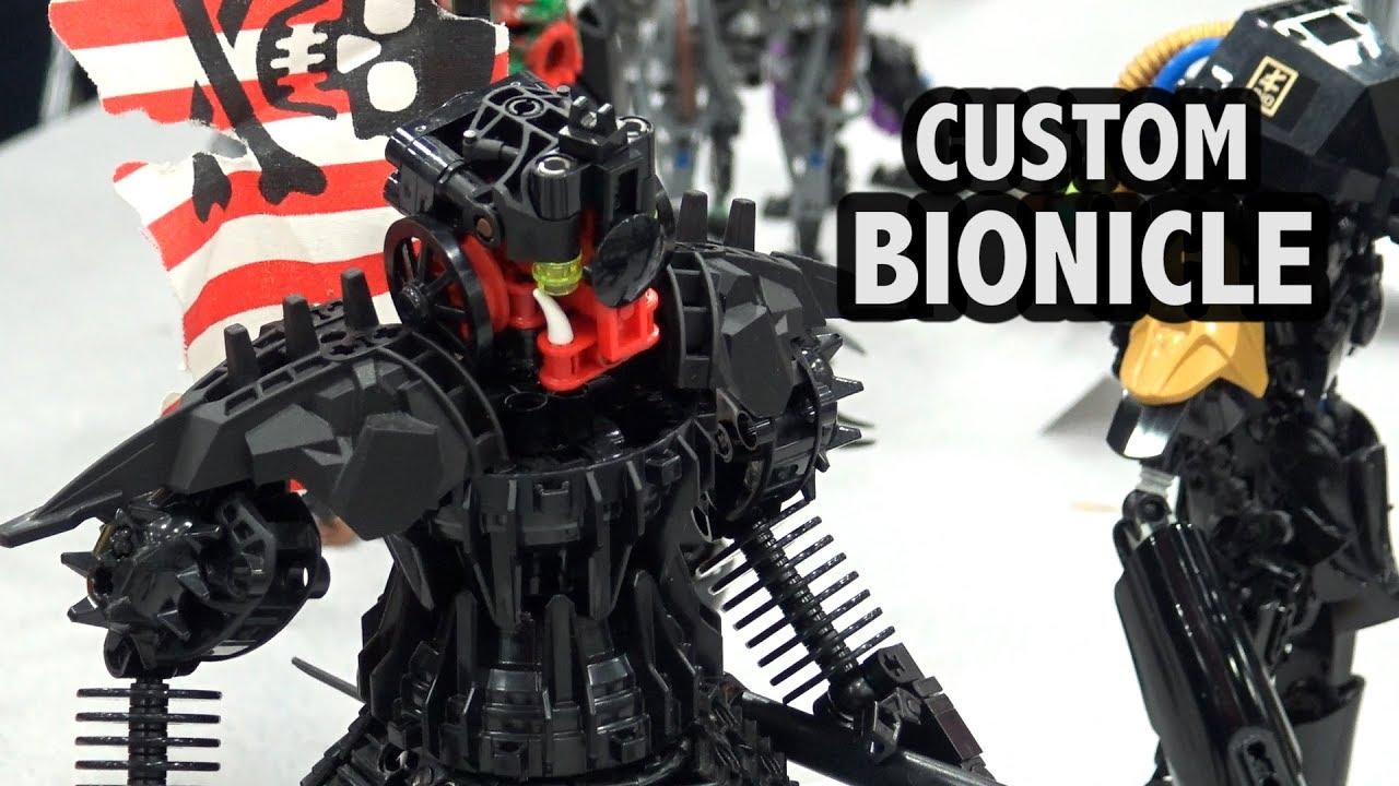 Custom LEGO Bionicle Characters at Bricks Cascade 2019