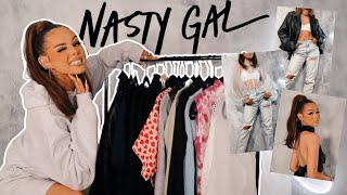 SPRING NASTY GAL TRY ON HAUL W/ 55% OFF DISCOUNT CODE AD