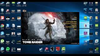 Rise of the Tomb Raider Ruşça olan Dili İngilizce yapmak