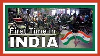 First Time in India arriving Mumbai airport fly to Varanasi rickshaw to Sarnath fly to New Delhi