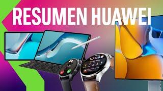 RESUMEN EVENTO HUAWEI - HARMONY OS, Huawei MatePad 11 y MatePad Pro, Huawei Watch 3, Huawei P50