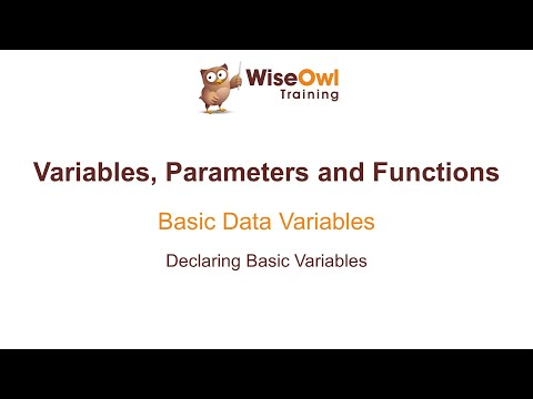 Excel VBA Online Course - 4.1.1 Declaring Basic Variables