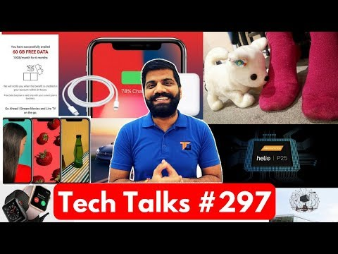 Tech Talks #297 - Micromax Bharat Phones, AirTel 60GB Free, Dog Robot, iPhone X Benchmark, Tesla