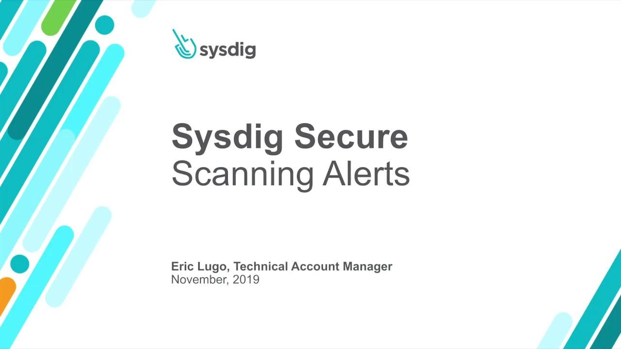 Sysdig Secure イメージスキャン:ホワイトリストとブラックリスト
