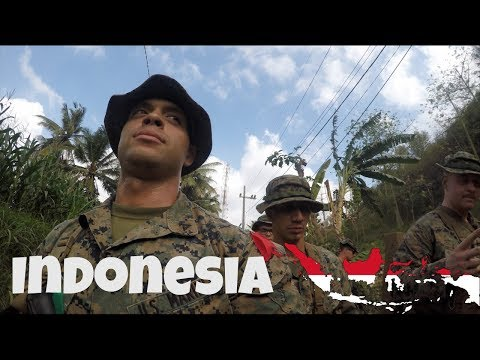 US Marines Visit Indonesia!