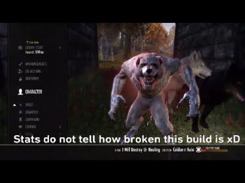 New racials and werewolf    :: The Elder Scrolls Online English