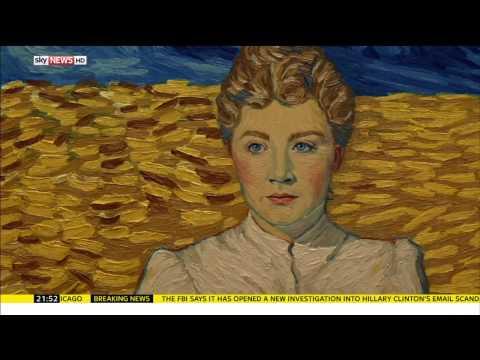Loving Vincent (Clip 'Sky News')
