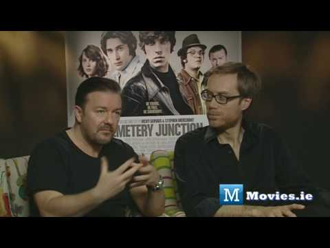 Why Ricky Gervais Fears Fame - Cemetery Junction Interview with Stephen Merchant
