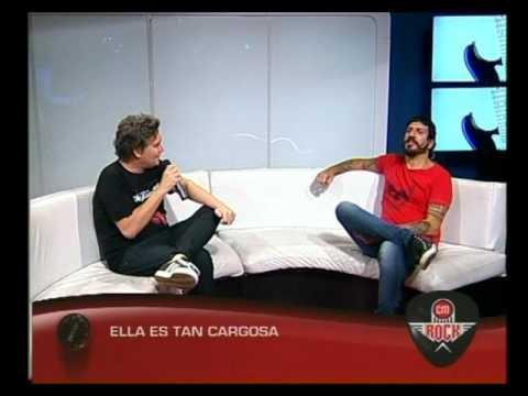 Ella Es Tan Cargosa video Entrevista CM Rock - Marzo 2016