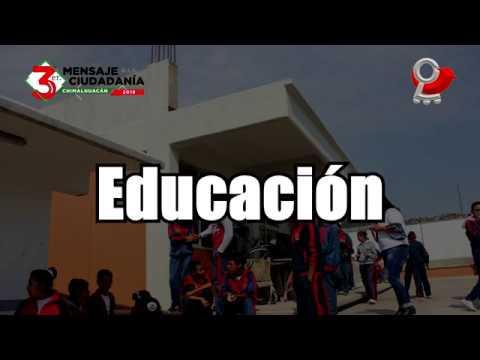 3er Mensaje a la Ciudadanía Educación