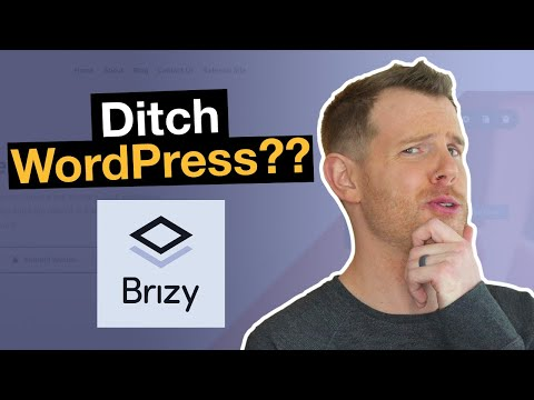 Build Websites Without WordPress - Brizy Cloud Complete Review & Tutorial