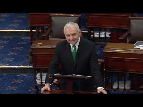 Senator Reed Speaks on the Floor in Advance of Final Impeachment Vote