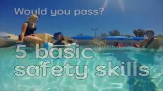 Swimming skills: know before you go