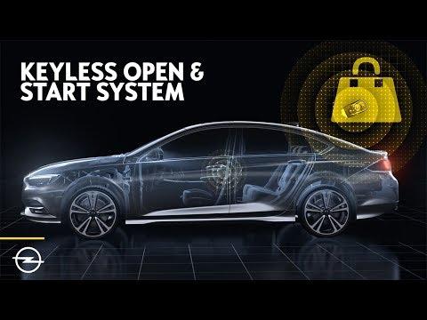 Opels Keyless Open & Start System