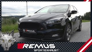 Video: Remus Auspuffanlage ab Kat für Ford Focus ST