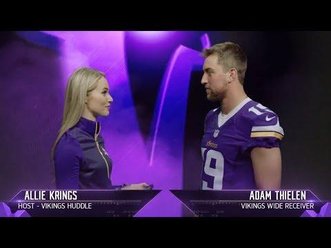 Get to Know Vikings Wide Receiver Adam Thielen