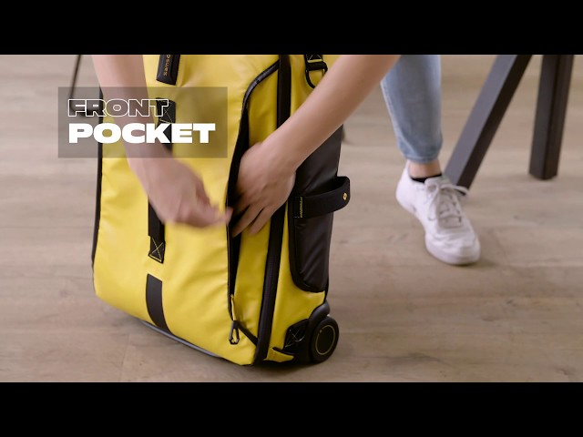 Paradiver Light Duffle with wheels 55cm video 1