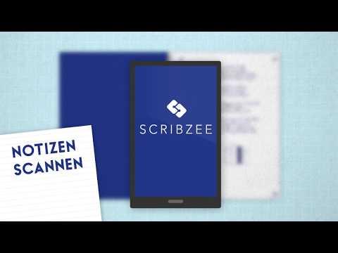 Notizen digitalisieren, verwalten und teilen - mit der kostenfreien App SCRIBZEE by Oxford