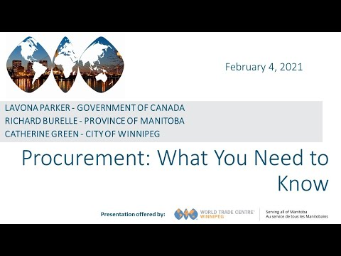 Procurement: What You Need to Know - YouTube