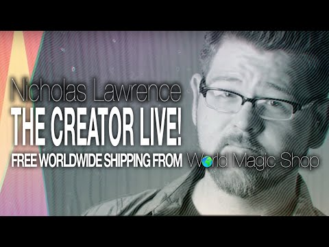 The Creator LIVE by Nicholas Lawrence