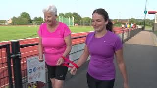 Rondom Os – Blinde Anny Eggen doet aan hardlopen