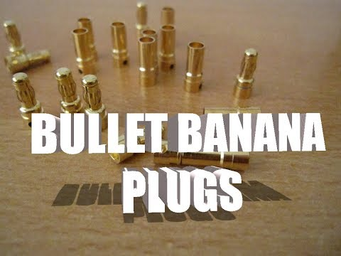 Bullet Banana Plugs from Banggood