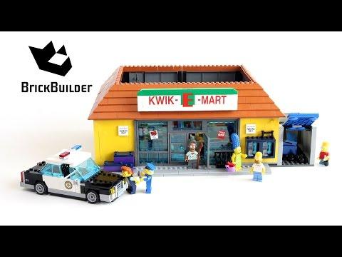 Speed Build LEGO Simpsons Kwik E Mart