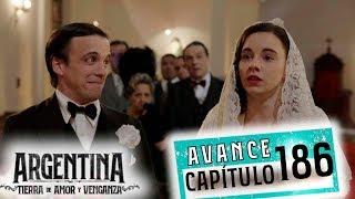 """Avance emitido el lunes 03 de diciembre de 2019 en eltrece, correspondiente al capítulo 186 de """"Argentina, tierra de amor y venganza""""."""
