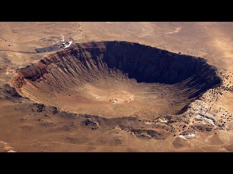 Srážka meteoritu se Zemí