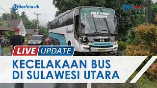Kronologi Kecelakaan Bus vs Truk di Tikungan Desa Lelema, Sulawesi Utara, Bagian Kendaraan Rusak