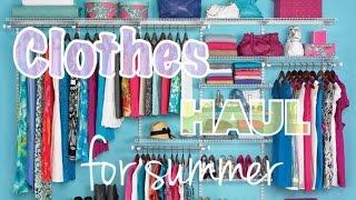 Что носить летом? Покупки одежды Aliexpress, familylook и др. ❀ С примеркой ❀