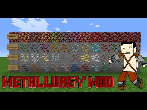 Metallurgy Mod para Minecraft 1.7.2/1.7.10º