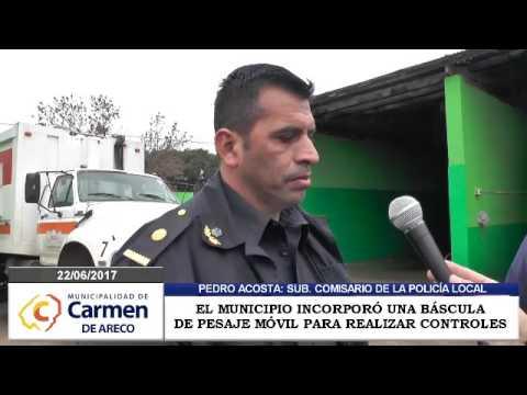EL MUNICIPIO ADQUIRIÓ UNA BÁSCULA MÓVIL PARA EL CONTROL DE PESAJE DE CAMIONES