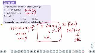 Eğitim Vadisi TYT Matematik 39.Föy Fonksiyonlar 1 Konu Anlatım Videoları