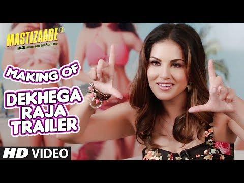 Download Dekhega Raja Trailer MAKING VIDEO   Mastizaade   Sunny Leone, Tusshar Kapoor, Vir Das HD Video