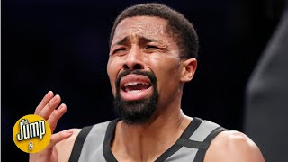 Uhhh ... what was this Spencer Dinwiddie shot? | The Jump