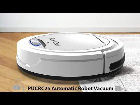 🥇 Best Robot Vacuum Under $100 - PUCRC25 Robot Vacuum