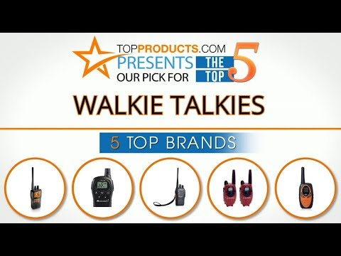 Best Walkie Talkie Reviews 2017 – How to Choose the Best Walkie Talkie