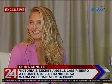24 Oras: Victoria's Secret Angels Lais Ribeiro at Romee Strijd, thankful sa...