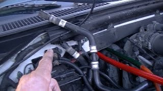 No -HOT- Heat??? You must know this!! HEATER CORE FLUSH with seals... Ford Expedition.