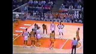 Chris Jackson(LSU)49pts vs Allan Houston(TENN)43pts 1990 | Kholo.pk