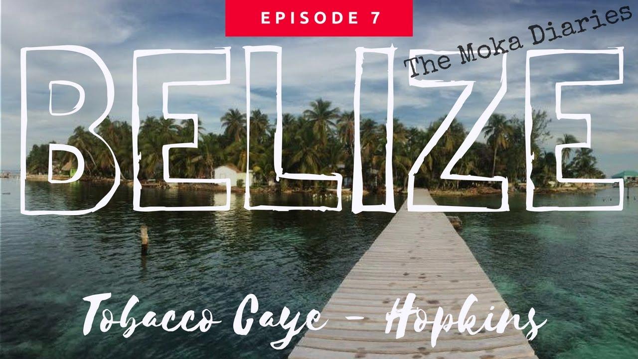 BELIZE –  Tobacco Caye, Hopkins