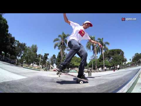 X Games Trick Tips -- Ryan Decenzo kickflip nose manual