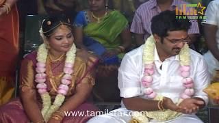 Actor Ramarajan and Nalini Son Wedding