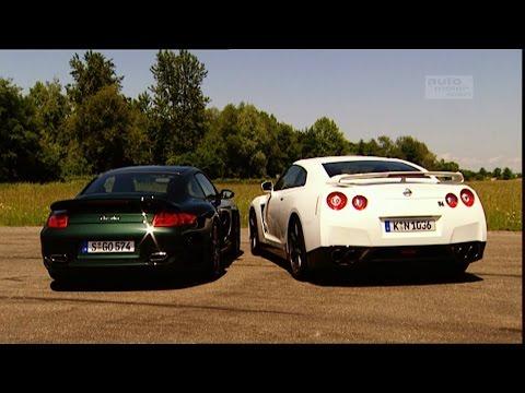 Porsche 911 Turbo gegen Nissan GT-R (aus dem Archiv) - Throwback Thursday | auto motor und sport