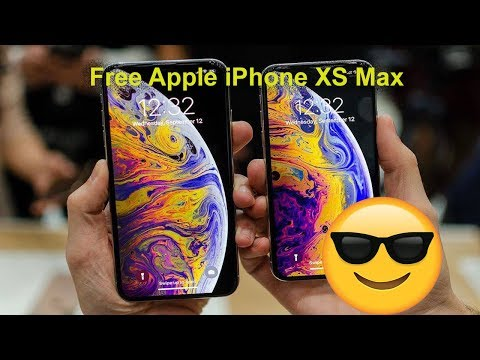 How to Get Free Apple iPhone XS Max-black friday