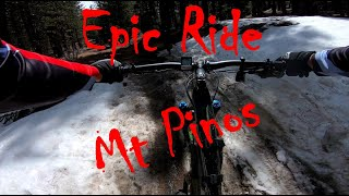 Epic Ride in Mt Pinos (Multiple views) 11 Apr 21