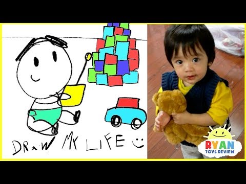 Draw My Life - Ryan ToysReview animated family fun kids pretend playtime cartoon!